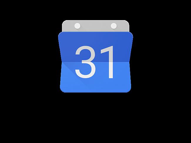 Logo do Google Calendar.