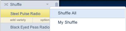 Pandora Shuffle